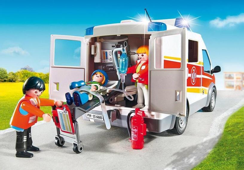 Konstruktor Playmobil City Life kiirabi