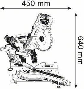 Bosch GCM 8 SDE Sliding Mitre Saw
