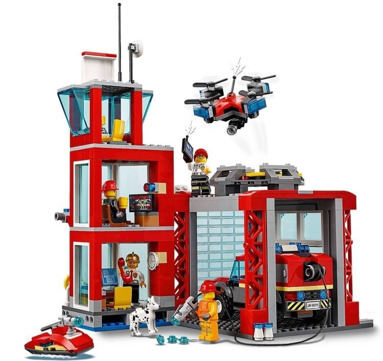 KONSTRUKTOR LEGO CITY FIRE 60215