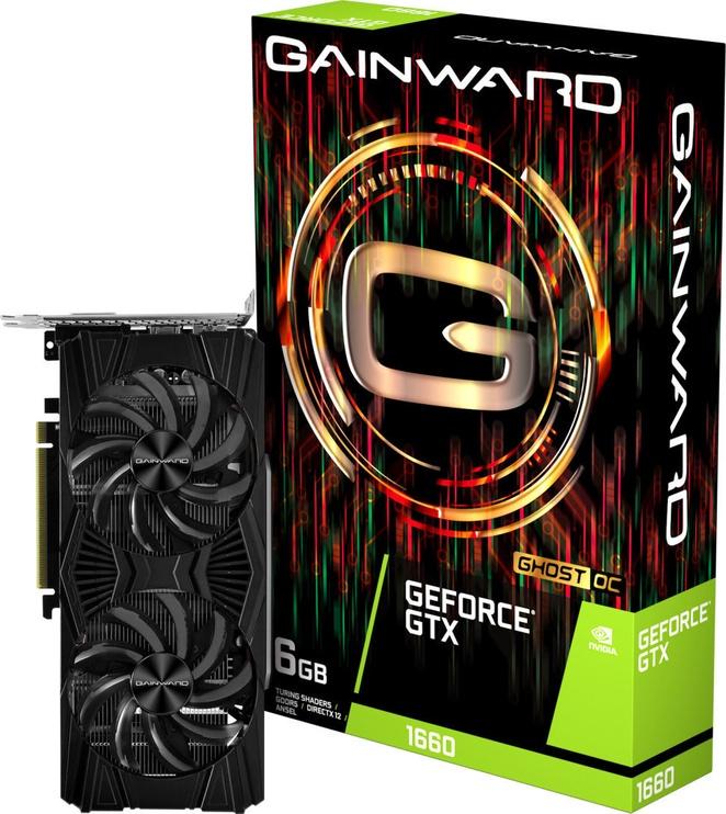 Gainward GeForce GTX 1660 Ghost OC 6GB GDDR5 PCIE 426018336-4474