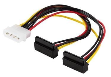 Savio Cable SATA / Molex White 0.18m