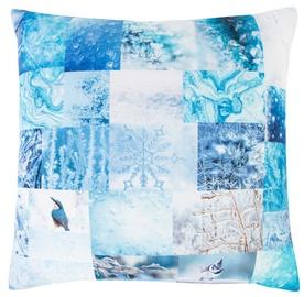 Dekoratiivne padi Home4you XMAS Story Blue, 450x450 mm