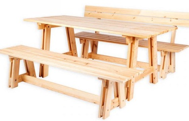 Folkland Timber Garden Set Riva Natural