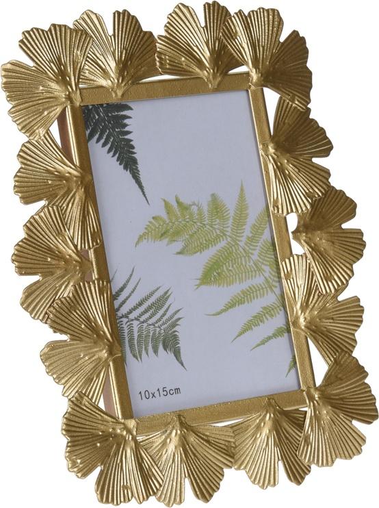 Metal Photo Frame Gold 22x17cm