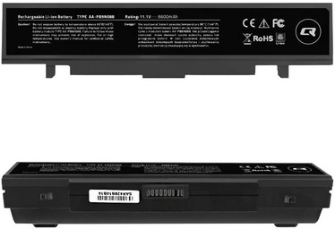 Аккумулятор для ноутбука Qoltec Long Life Notebook Battery For Samsung R580 6600mAh
