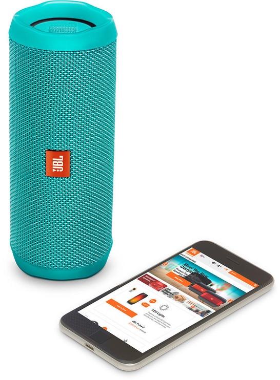 Belaidė kolonėlė JBL Flip 4 Bluetooth Speaker Teal