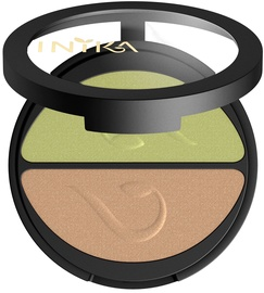 Inika Pressed Mineral Eye Shadow Duos 3.9g Khaki Desert