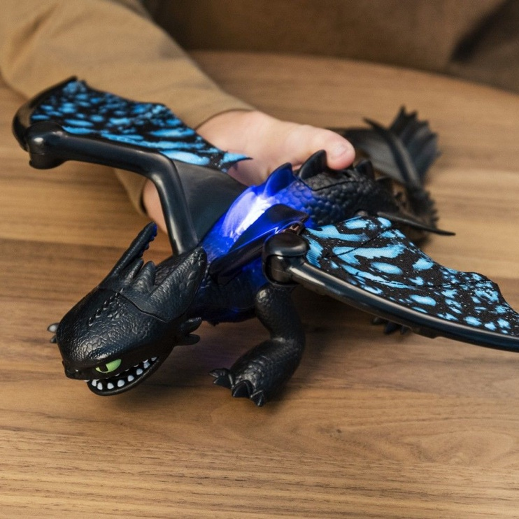 Žaislinė figūrėlė Spin Master How To Train Your Dragon The Hidden World Toothless