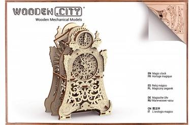 3D mīkla Wooden City Magic Clock, 149 gab.