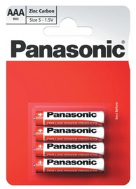Panasonic Zinc Carbon AAA 4pcs
