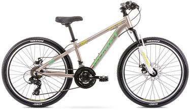 Bērnu velosipēds Romet Rambler Dirt 24 JR 12'' 24'' Grey/Green 21