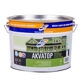 Rilak Avatop Water Based Paint For Wood Facades 9l White Matte