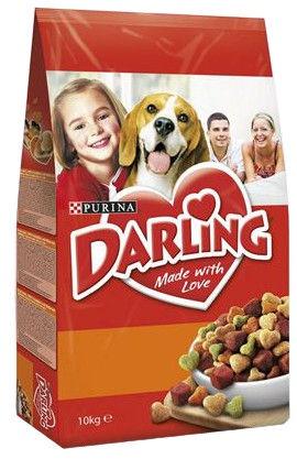 Сухой корм для собак Darling for Dogs with Chicken and Vegetables 10kg