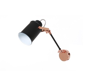 Sieninis šviestuvas TK-694BK+CP.1W.BK, 60W, E27