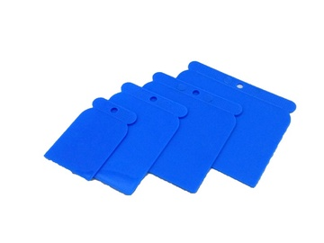 SN Plastic Scraper Set 4pcs