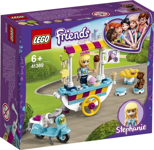Konstruktorius LEGO Friends Ice Cream Cart 41389