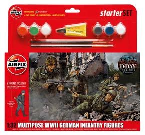 Airfix WWII German Infantry Multipose Starter Set 1:32