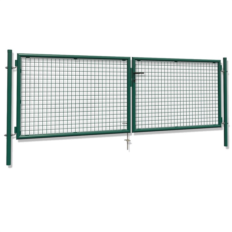 Väravad garden, 4000x1500 mm, roheline