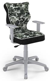 Детский стул Entelo Duo ST33 Size 6, черный/зеленый/серый, 425 мм x 915 - 1045 мм