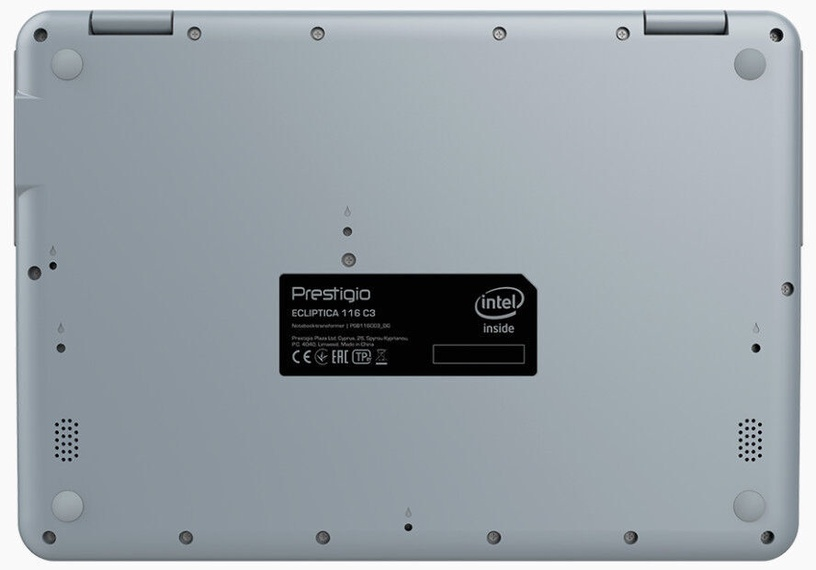 Ноутбук Prestigio Ecliptica, Celeron®, //, 4 GB, 128 GB, 11.6 ″