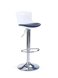 Baro kėdė H49, juoda/balta