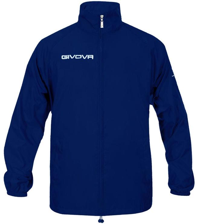 Givova Basico Rain Jacket Navy 2XS