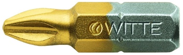 "Witte Screwdriver Bit TIN 1/4""x25mm PZ2"