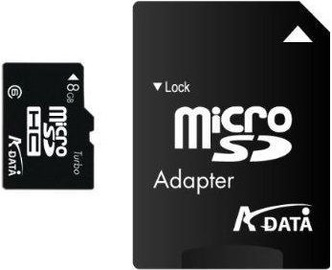Adata 8GB MicroSDHC CLASS 4