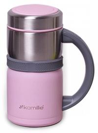 Kamille Vacuum Flask 500ml Pink KM2018