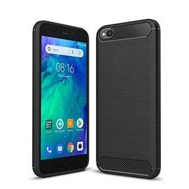 TakeMe Carbon Effect TPU Cover Case For Xiaomi Redmi Go Black