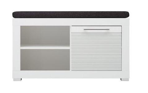 Apavu plaukts WIPMEB Polaris Typ 60, balta, 920x370x500 mm