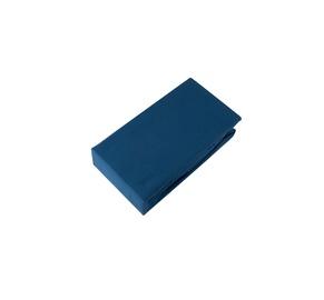 Paklodė su guma Domoletti 19-4034, 90 x 200 cm, mėlyna