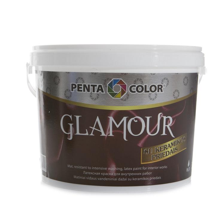 Dispersijas krāsa Pentacolor Glamour, 3 l
