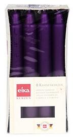 Eika Crown Candles Dark Purple 8pcs