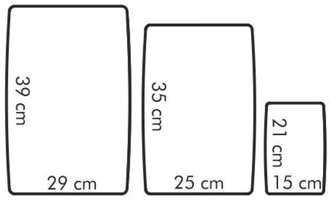 Pjaustymo lentelė Tescoma Presto Flexible, 3 vnt.
