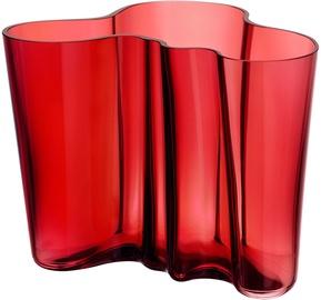 Iittala Alvar Aalto Collection Vase 160mm Cranberry