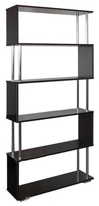 BTS Shelf 85x28.8x186.6cm Wenge