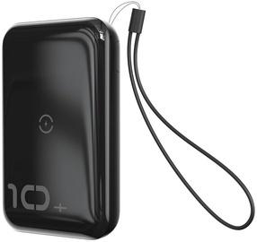 Ārējs akumulators Baseus PPXFF10W Mini S Black, 10000 mAh