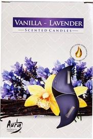 Aura Candles Tea Lights Lavender/Vanilla 6pcs