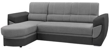 Stūra dīvāns Idzczak Meble Trendi Bahama 31/35 Gray, kreisais, 250 x 170 x 97 cm