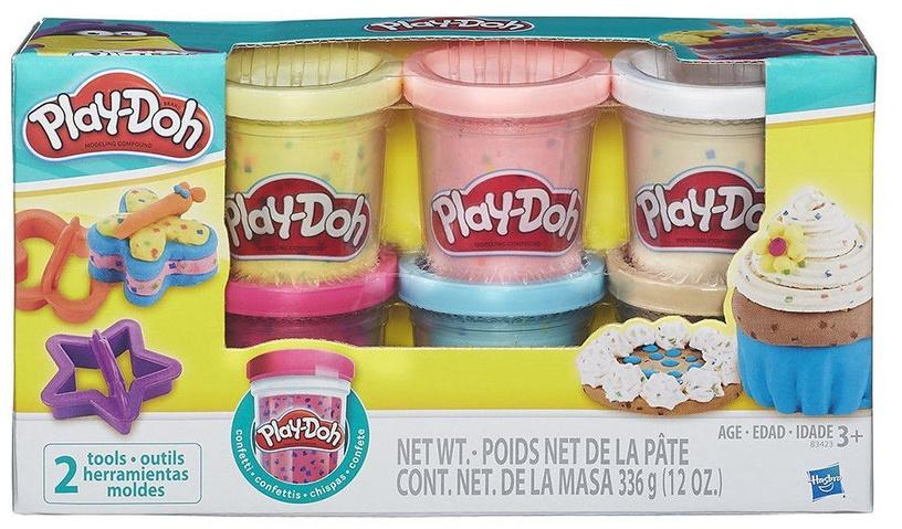 Hasbro Play-Doh Confetti Compound Collection B3423
