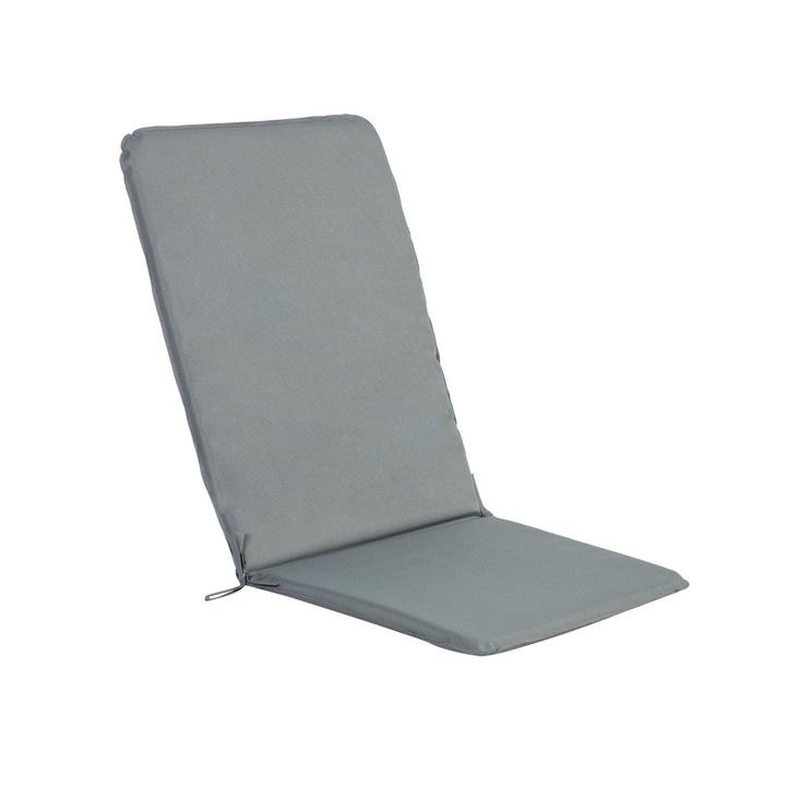 Подушка для стула Home4you Ohio Light Grey, 50x120x2.5 cm