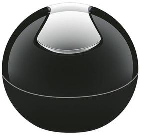 Spirella Bowl Bin 1l Black