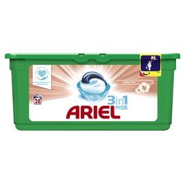 Skalbimo kapsulės Ariel Sensitive 3 in 1, 28 vnt