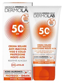 Солнцезащитный крем Deborah Milano Dermolab Sun Anti Dark Spots SPF50, 50 мл