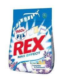 Skalbimo milteliai Rex Lavender & Patchouli 2 in 1, 2.8 kg
