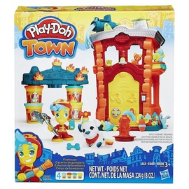 Hasbro Play-Doh Town Firehouse Playset B3415