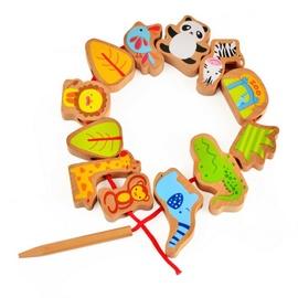 Lavinamasis žaislas, zoologijos sodas, medinis