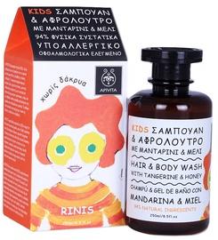 Apivita Kids Honey&Tangerine Hair Body Wash 250ml