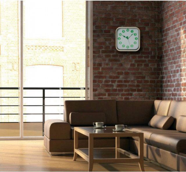 Platinet Morning Wall Clock 42988 Green
